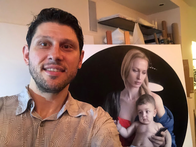 Helping Tigran Tsitoghdzyan with Art Logistics