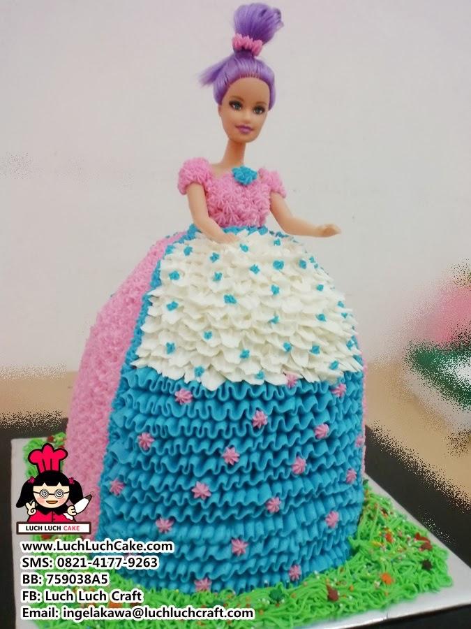 Luch Luch Cake Kue Barbie Murah Daerah Surabaya Sidoarjo