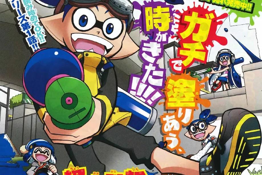 Splatoon 2 tendrá serie animada en Japón