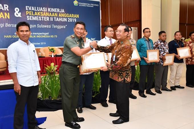 "Korem 143/HO Raih Peringkat Kedua ""Treasury Award"" Kementerian Keuangan"
