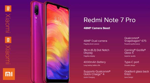 Redmi Note 7 Pro भारत में हुआ लॉन्च, जानें कीमत, स्पेसिफिकेशन, फीचर्स और हाइलाइट्स