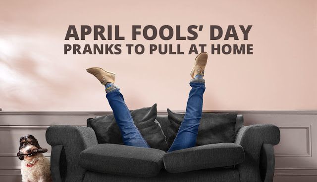 April Fools Day Pranks At Home