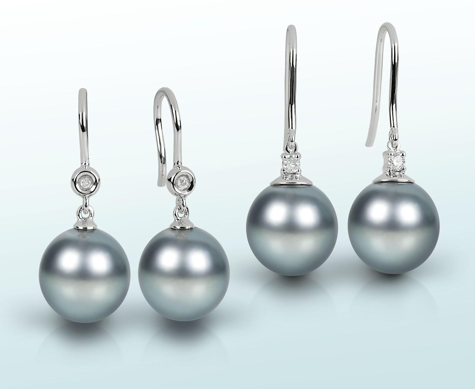 Perlen ohrringe echte perlen