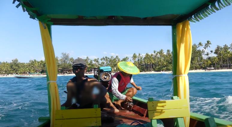 Fisherman boat, Ngapali Beach, Myanmar