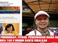Viralkan Biar Lekas Diringkus, Ini Identitas Penyebar Fitnah & Hoax Foto Editan Tak Senonoh Veronica Tan