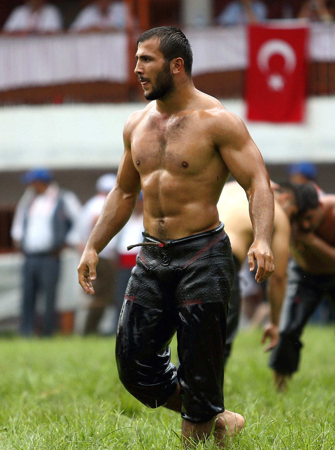 Watch Video & Photos: Oil Wrestling Tournament a 653 Year Old Turkey Traditional Game