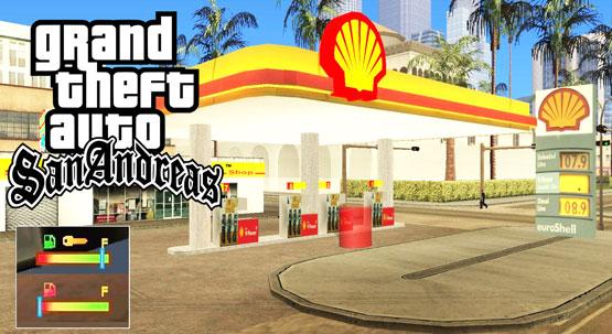 Petrol Station Mod For GTA San Pc