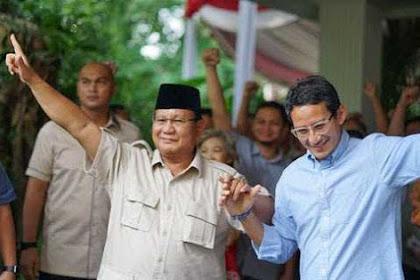 Demi Rakyat, Relawan Minta Prabowo-Sandi Tetap Di Jalur Oposisi