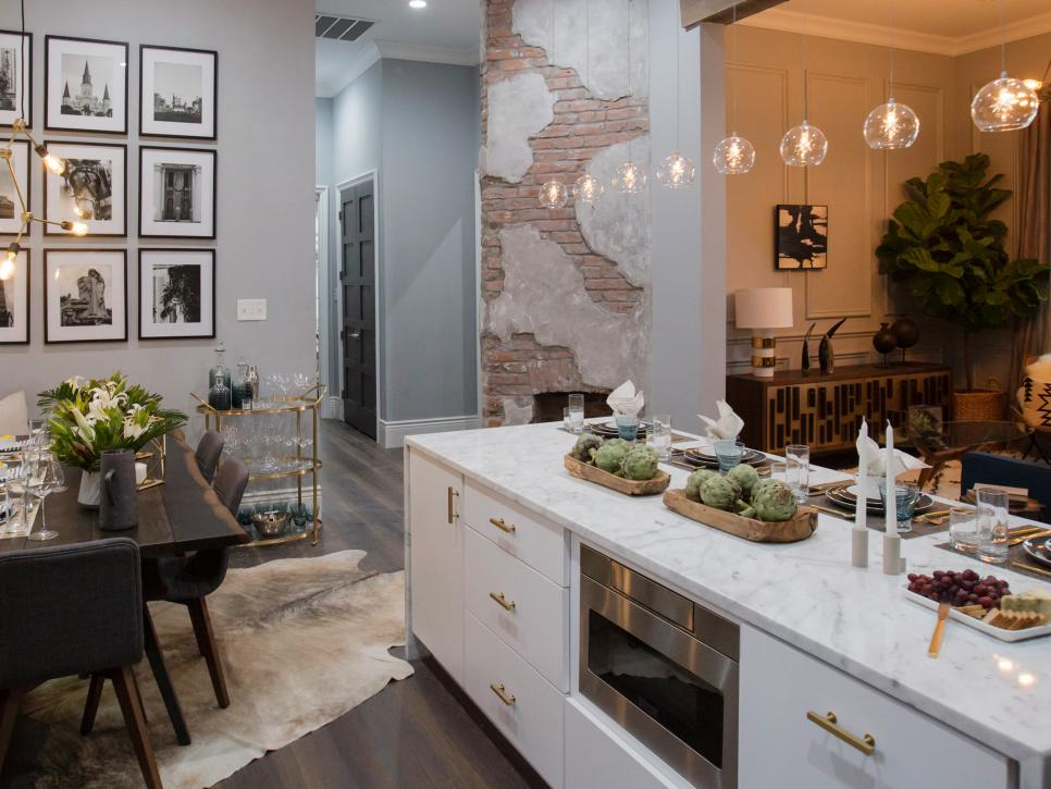 image result for Property Brothers New Orleans kitchen HGTV
