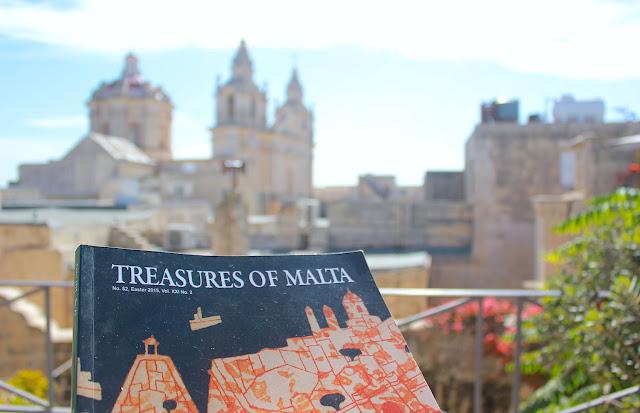 Treasures of Malta...il libro giusto per me! - Foto di Elisa Chisana Hoshi