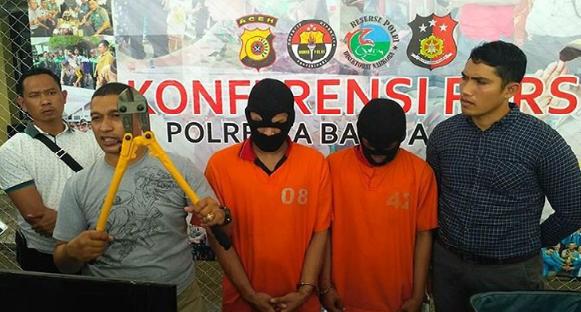 """Spesialis """"Cungke Rumoh dan Toko"""" diamankan Polisi"""