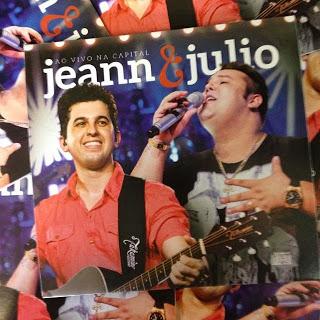 CD CD Ao Vivo Na Capital – Jeann e Julio (2014)
