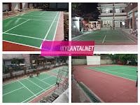 Pengecatan Lapangan Olahraga, Basket, Tenis, Futsal Profesional