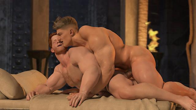 The Temple - Desenho Porno Gay