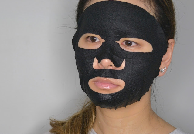 sephora collection charcoal mask selfie