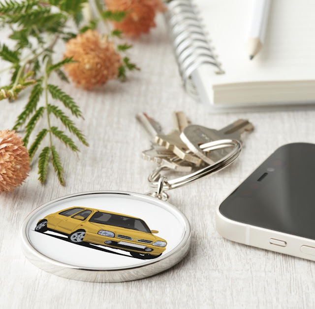 Nissan Micra / Nissan March - key ring holder