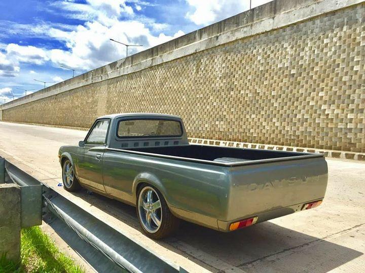 MOBIL ANTIK MURAH : Datsun 620 long th77. 1300cc - LAPAK ...