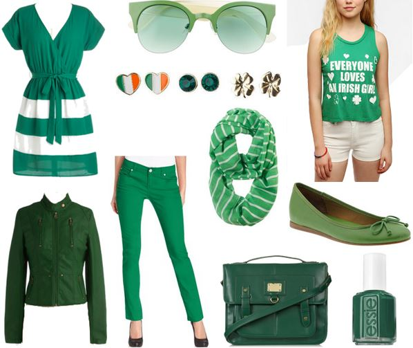 St Patricks Day 2016 T Shirts Sexy Lingerie Panties Pants
