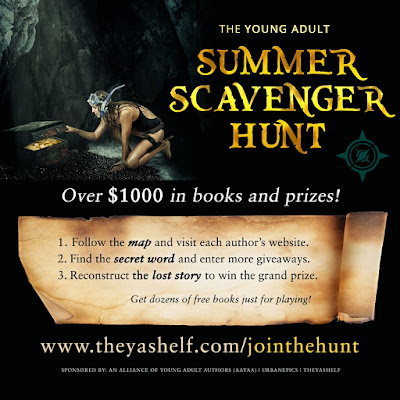Join the Alliance of Young Adult Authors Scavenger Hunt!