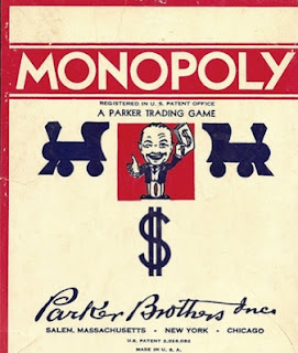 Parker Brother's Monopoly, or is it really ALEC Koch Trump's America?