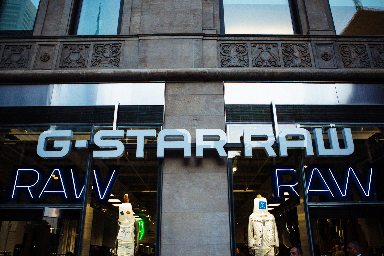 f94657bb6057 G-Star Raw Fifth Avenue Flagship Launch with Pharrell Williams ...
