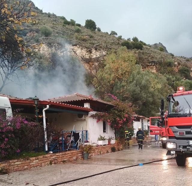 """Ηγουμενίτσα: Ευχαριστήριο από το κάμπινγκ """"ΚΑΛΑΜΙ"""" προς την Πυροσβεστική Υπηρεσία"""