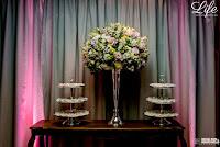 casamento com cerimônia na Igreja São José La Salle e recepção no Restaurante Qoppa com decoração romântica e delicada por life eventos especiais