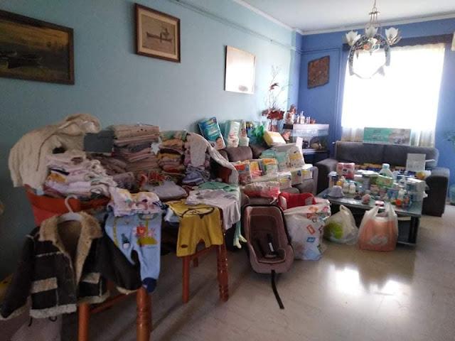 Αργολίδα: Χωρίς προηγούμενο η ανταπόκριση του κόσμου προς τους άνεργους γονείς με το μωράκι των 40 ημερών