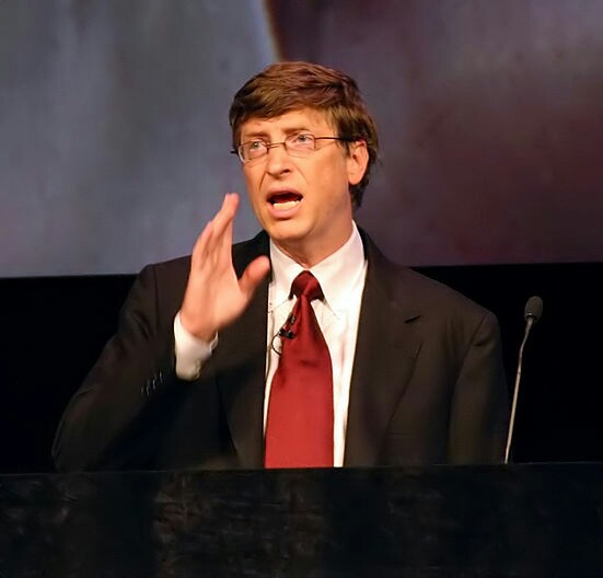 Amazing fact about bill gates in Hindi | great people thoughts