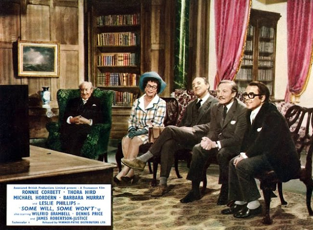 Noel Howlett, Thora Hird,  Michael Hordern, Leslie Phillips and Ronnie Corbett