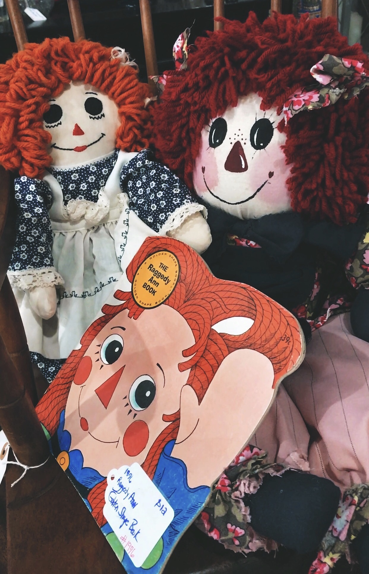 Raggedy Ann Finds I Saw At The Thrift Store Today