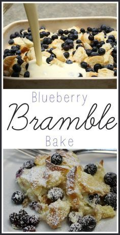 I love a delicious breakfast dish! If you do too, you'll love my Blueberry Bramble Bake Recipe. It's easy to make and a huge hit with the whole family!