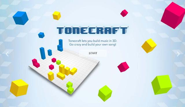 استمتع بوقتك علي الإنترنت وجرب بناء قاعدة موسيقية أون لاين   Tonecraft