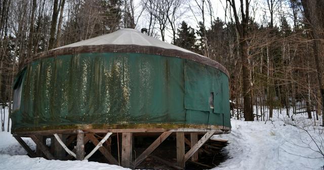 Katie Wanders Vermont Yurt Rentals Maple Wind Farm