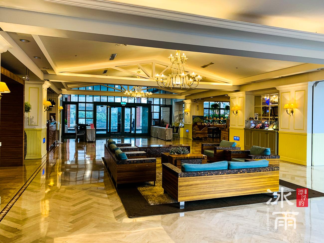 陽明山天籟溫泉會館|大廳全景
