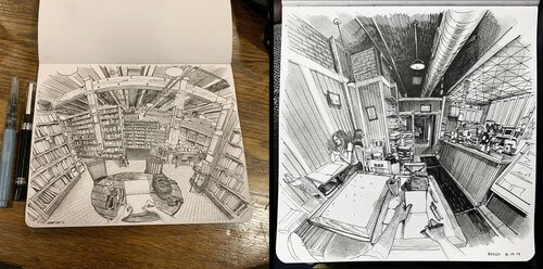 00-Paul-Heaston-Moleskine-Urban-Drawings-with-a-Point-of-View-www-designstack-co