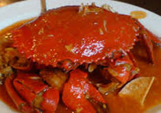 Resep masakan indonesia gulai kepiting spesial (istimewa) praktis mudah enak, gurih, sedap, nikmat lezat
