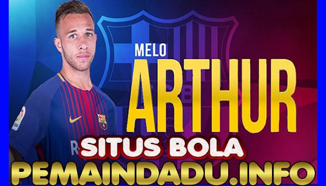 Gelandang Arthur Melo Mengaku Tidak Berniat Hengkang Dari Barcelona