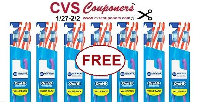 http://www.cvscouponers.com/2018/07/free-oral-b-indicator-contour-clean.html