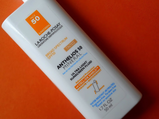 La Roche Posay Anthelios Ultra-Light Mineral Sunscreen Fluid SPF 50