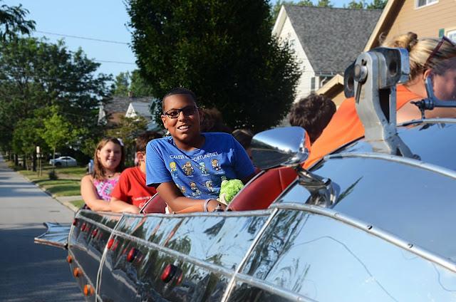 Throwing a Surprise Party + Euclid Beach Rocket Car