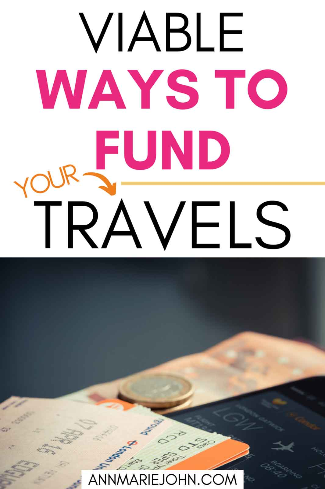 Viable Ways to Fund Your Travels