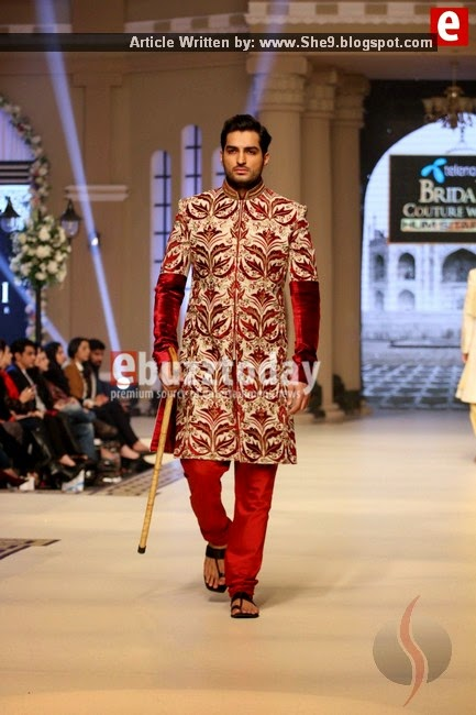 Ziggi Menswear and Bridal Dresses at TBCW2014 Fashion Show