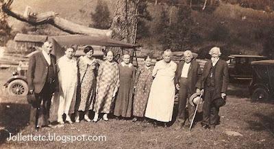 Jollett Family Reunion about 1927 https://jollettetc.blogspot.com
