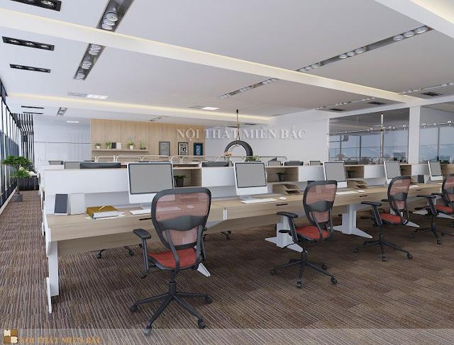 Thiết kế nội thất văn phòng phù hợp với kinh phí đầu tư