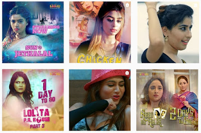 Kooku web series actress name and list with photo's and profile