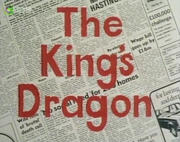 Tim worthingtons newsround october 2016 contrary to the sword and sorcery that the title might suggest the kings dragon is simply a historical artefact that has been stolen from a museum in a fandeluxe Image collections