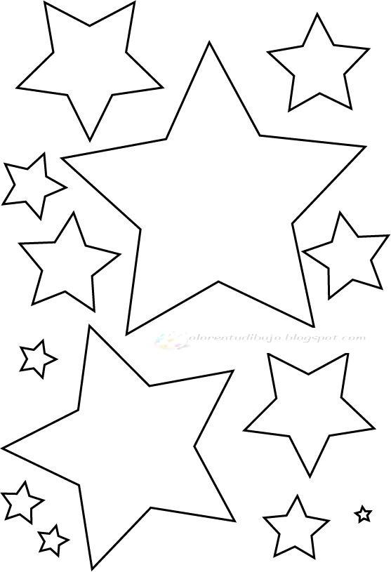 Imagenes De Estrellas Para Colorear E Imprimir
