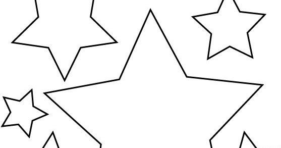 Dibujos De Estrellas Para Colorear E Imprimir: COLOREA TUS DIBUJOS: Estrellas Para Colorear E Imprimir