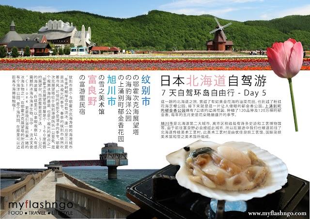 ● 旅游 | 日本北海道 | 春季 | 7 天自驾环岛自由行 - Day 5 | 纹别市 - 富良野
